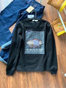 19ss Paris CH classic small Flying elephant print Casual Lovers jumper Sweatshirts sun-protective Streetwear Pullovers Outdoor Hoodies 18