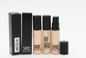 Pro LONG WEAR Liquid Concealer Foundation Makeup Brand Face Makeup Waterproof FULL-Cover Cosmetics 10 Colors 9ML (2Pcs lot) Free Shipping