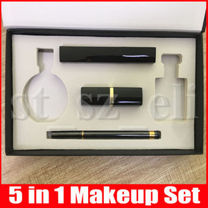 Wholesale New in Cosmetics Eyeliner Pencil Matte Lipstick Mascara ml Perfume Makeup Set Big Box Kit