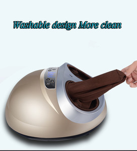 Wholesale foot massager electric machine resale online - Hot Electric Health Care Antistress Muscle release Therapy Rollers Shiatsu Heat Foot Massager Machine device Mother s Day gift