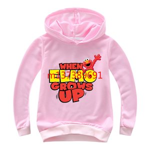 Wholesale New Casual Kids Hoodies Fashion Heat Transfer The Letter Boys and Girls Sweaters Outdoor Cartoon Children's Sportswear #0403