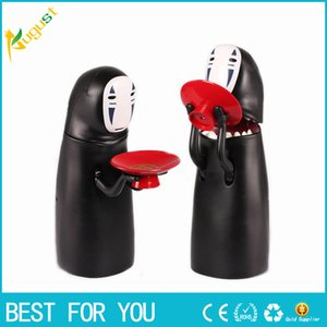 Wholesale Hot Sale New No face Man Funny Money Box Spirited Away Coin Bank Special Children Musical Eat Coins Safe Money Electronic Cartoon Piggy Bank