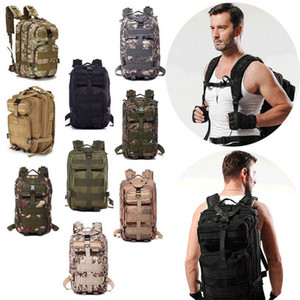 Wholesale Tactical Camping Military Backpacks Universal Combat Rucksack Trekking Camouflag Army Trekking Bag Hiking Outdoor Sport Bag 10pcs 00