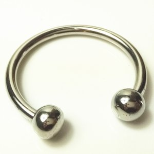 Penis Cock Glans Ring Top Open Delay Rings Cockrings Fetish Sex Toys for Men Stainles Steel QHA040B
