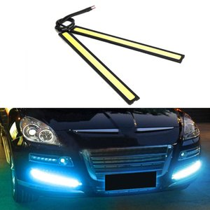 Wholesale Universal Waterproof Daytime Running lights COB Fog Lamp Car Styling Led Day light DRL Lamp