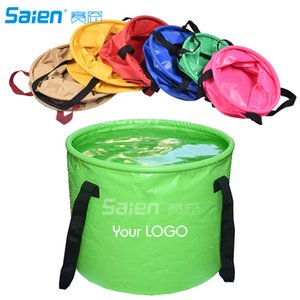 30L Collapsible Bucket, Foldable Water Container Portable Folding Wash Pail for Beach, Travel, Camping, Fishing, Gardening, Car Washing