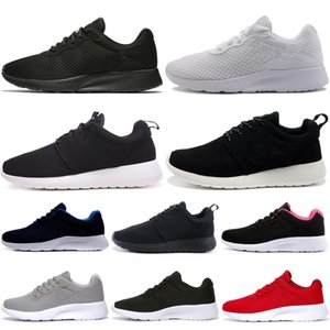 Wholesale Men Running Shoes Tanjun Run Triple White Black Red Navy Outdoor Women Mens Trainers Athletic Sports Sneakers