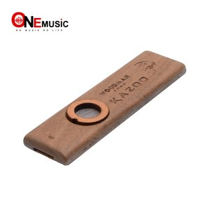 Wholesale Kazoo Guitar Ukulele Partner High end Raw Wood Harmonica Mini Size In Pocket For Party Play Coax Child Easiest Instrument Toys