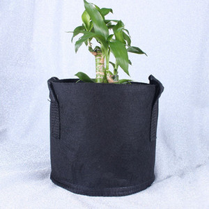 100pcs Grow Bag Planting Bag Wholesale Non-woven Fabric Pots Plant Pouch Root Container Flower Vegetable Growing Pots Garden Planters Home