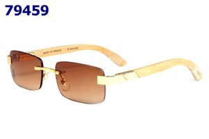 Wholesale 2019 man woman with white Beige bamboo legs glasses fashion myopia glasses frame framedframe red original box piece