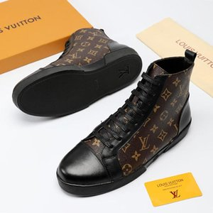 Wholesale New Louis Vuitton LV High Quality Mens Shoes Casual Style Fashion Outdoor Street Platform Fitness Footwears Zapatos de hombre Tattoo