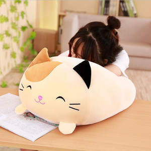 Wholesale 30cm Soft Animal Cartoon Pillow Cushion Cute Fat Dog Cat Totoro Penguin Pig Frog Plush Toy Stuffed Lovely kids Birthyday Gift
