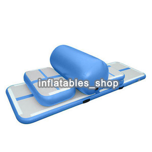 Wholesale sealing pump resale online - Free Pump A Set pieces Air Sealed DWF Inflatable Air Tumble Track For Sale Inflatable Airtrack Gymnastic