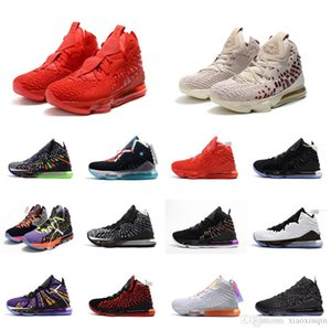 Wholesale Womens lebron basketball shoes Red Carpet Christmas CNY Rose Gold HFR lbj new kids lebrons james s sneakers tennis with box size