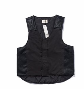Fear Of God 19ss top Latest High quality Hiphop Fear Of God FOG Season 7 Hip Hop HENLEY Men Women Coats Vests spring autumn Vests jacket on Sale