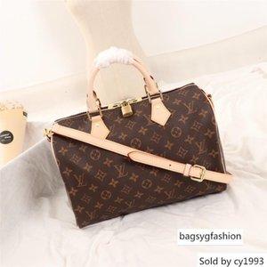 20 25 30 35 Luxury quality oxidize cowhide speedy cm Sell Fashion women bag Shoulder Lady Totes handbags Bags