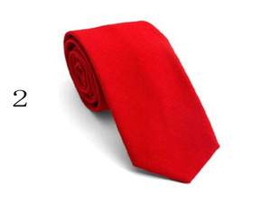 Wholesale Men's Pure Cotton and Hemp Necktie Short Edition 6.5CM Japanese Simple Fashion Student's Necktie in Stock