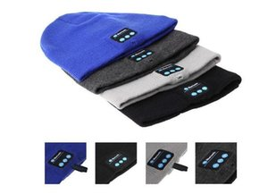 Christmas gift Bluetooth Beanie Hat Winter Music Cap Wireless Bluetooth Headphone Headset Earphone soft warm with stereo speaker hands-free