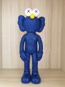 30cm Hight Action Figurse toy super Fashion doll gift Office decoration PVC material With box Origina Fake mand KAWS
