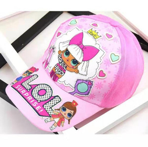 Wholesale New Children Unicorn Print Baseball Cap Kids Boys Girls Cartoon printing peaked hat adjustable cap Styles