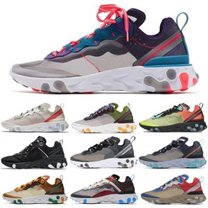 Wholesale RED ORBIT React Element running shoes for women men Orange Peel Desert Sand Light Beige Walking Jogging mens trainers Sports Sneakers
