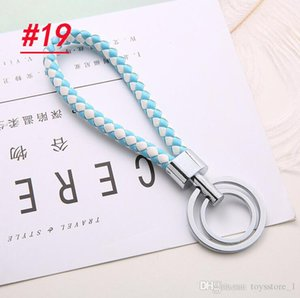 Wholesale Mobile Phone Straps Key Chain Car Pendant Weave Key Ring Men And Women Key Chain Valentine Day Gifts Wholesale