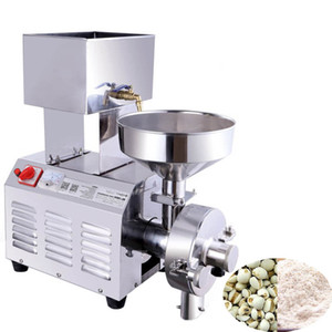 Wholesale Qihang_top W commercial wheat corn bean flour mill chili powder pepper grinder electric peanut sesame pulping machine