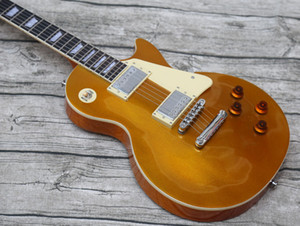 promotion! Electric Guitar,gold top, In stock, Shipped out Quickly