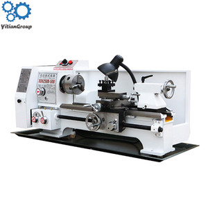 Wholesale metal lathes resale online - XD6250 Multifunctional Mini Turning Lathe Machine Household Desktop Precise Industrial Metal Processing Turning Mill V V