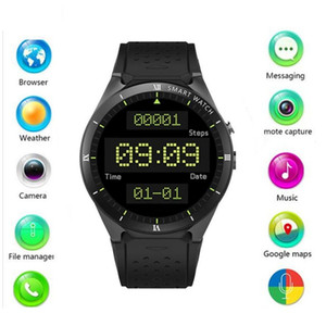 Wholesale gps watch map resale online - KW88 Pro Android Smart Watch GB GB Bluetooth WIFI G Smartwatch men Wristwatch Support Google store Voice GPS Maps