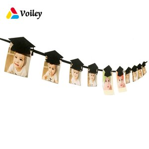 Wholesale graduation party decorations for sale - Group buy VOILEY Graduation Party Decoration Bachelor Cap Hanging Photo Clip Graduation Souvenirs Graduates Favorite Decor Gift Supplies