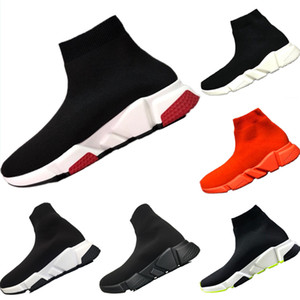 Wholesale 2019 BB Speed Stretch Knit Breathable High Top Sports Shoes BB Speed Mix EVA Cushioning Motorcycle Boots Eur