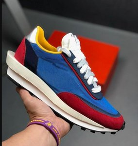 New Sacai LDV Waffle Daybreak Trainers Mens Sneakers For Women fashion designer Breathe Tripe S Sports Running Shoes Size Eur36-45