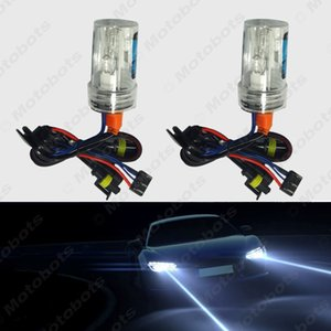 2x Car 12V 35W H15 Xenon HID Bulbs With Halogen Lamp Replacement HID Headlights Bulbs 6000K #2015