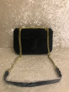 Wholesale 2018 TOP Fashion black chain makeup bag famous luxury party bag Marmont velvet shoulder bag Women designer bags Free shiopping