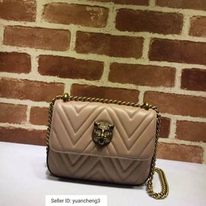 Wholesale yuancheng3 Cat head chain bag female shoulder bag nude powder Women Handbags Bags Top Handles Shoulder Bags Totes Evening Cross Body