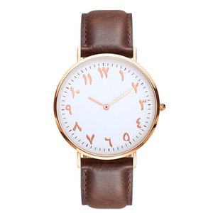 Wholesale Mens Watch Luxury Women Watches Ancient Arabic Numerals Stainless Steel Mesh and Leather Strap Quartz Wristwatches Clock Relogio Feminino