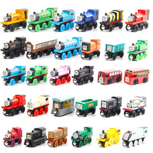 Thomas Train Wood Model Toy, Mini Size, 59 Styles, Compatible with Thomas Train Track, for Party Christmas Kid' Birthday Gift, Home Ornament