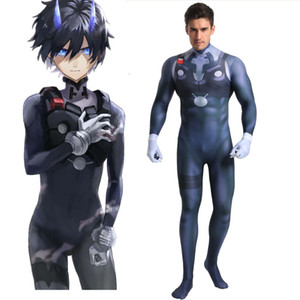 Darling In The Frankxx HIRO Bodysuit Cosplay Costumes 3D Printed Zentai Suit Halloween Catsuit
