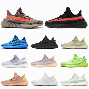 Wholesale race stripe for sale - Group buy Yecheil Yeehu Classic Gray Orange Stripe Black Red Running Shoes for mens womens Static Reflective Synth Zebra Beluga Trainers Sneakers