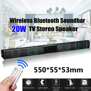 Wholesale 2019 20W TV Speaker Soundbar bluetooth Wireless Theater Sound Bar Remote Control