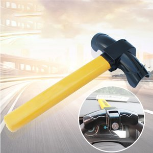 Wholesale Anti Theft Car Auto Use T Type Rotary Steering Wheel Lock Truck Professional Stainless Steel Practical Universal Durable