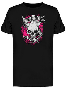 Wholesale Horror Grunge Skull Evil Look Tee Men S Image By Classic Unique Tee Shirt