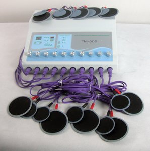 Electrical Muscle Stimulation Machines Electro Fat Loss Machine with 20pcs pads Losing Weight Slimming the Body