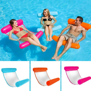 130*73CM Summer Inflatable Floating Row Pool Air Mattresses Beach Foldable Swimming Pool Cushion Hammock Water Sports Piscina