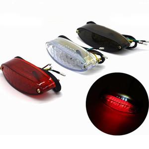 Universal Motorcycle LED Tail Light Brake Indicator Lamp Motorbike Rear Lamp Modified Accessories Decorative Light