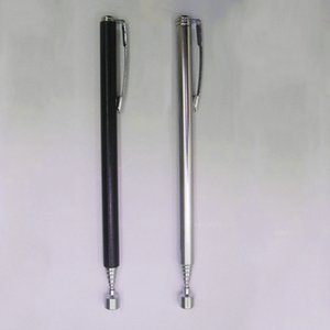 High quality and inexpensive easy bar magnet telescopic portable silver   black 4.92~25.59inch (adjustable) hand tool