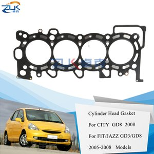 Wholesale head gaskets resale online - ZUK Engine Cylinder Head Gasket For HONDA For CITY FIT Saloon GD8 For L Cars FIT JAZZ GD3 REB Z01