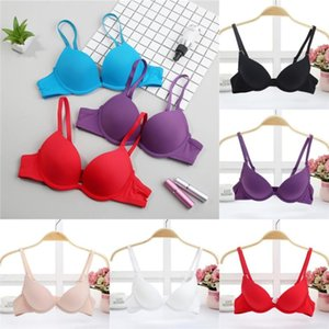 Wholesale push girls breast for sale - Group buy super push up bra for small breast young girl sexy bra lady women support chest lovely gather