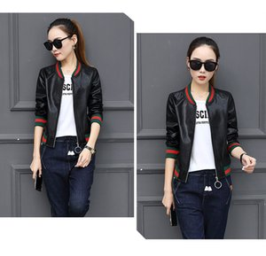 Spring Autumn Ladies Jacket New Pu Baseball Uniform Small Leather Smock Female Designer Jacket High Quality Jacket